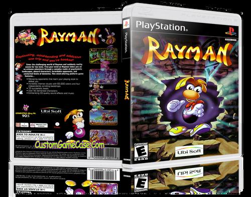 Rayman - Sony PlayStation 1 PSX PS1 - Empty Custom Case