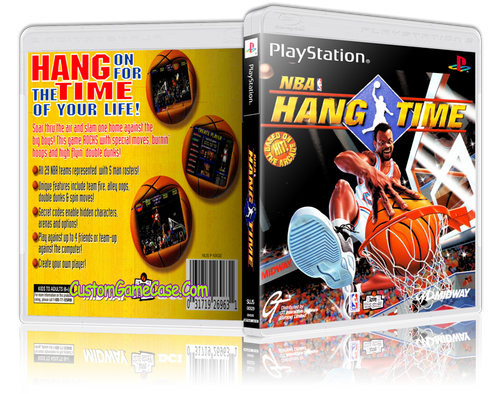 Nba Hangtime Custom PS1 Case