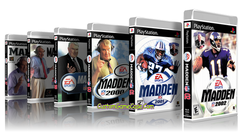 Madden Collection 97 98 99 00 01 02  PS1 PSX Playstation