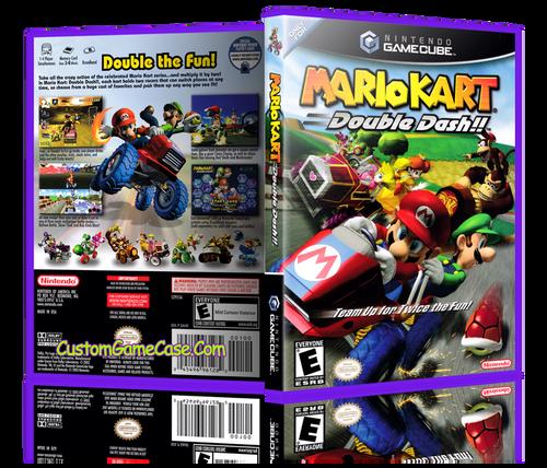 Mario Kart Double Dash Front Cover