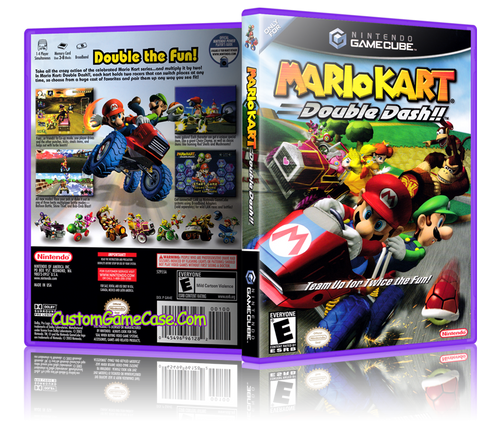 Mario Kart Double Dash Front Cover