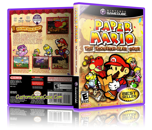 Paper Mario Front Cover