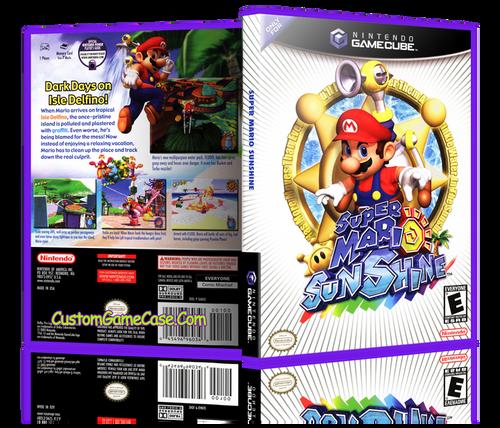 Super Mario Sunshine Front