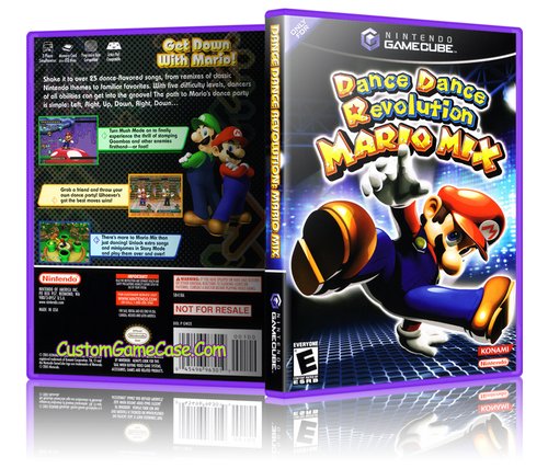 Dance Dance Revolution Mario Mix Front