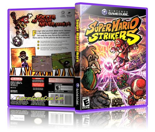 Super Mario Strikers Front Cover