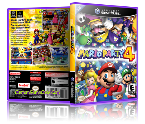 Mario Party 4 Front Cover