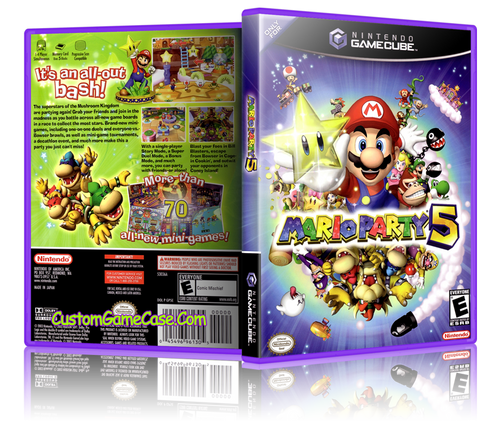 Mario Party 5 Front Cover