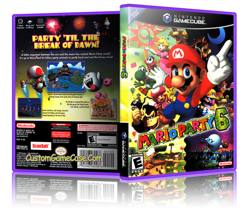 Mario Party 6 Front Cover