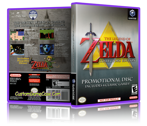 The Legend of Zelda Collector's Edition Custom Game Case