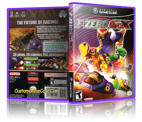 F-Zero GX Gamecube Cover Artwork