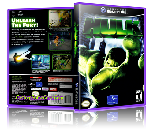 Hulk GameCube Cover