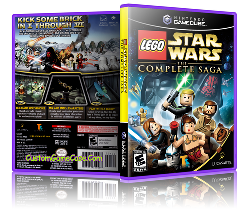 LEGO Star Wars The Complete Saga Front Cover
