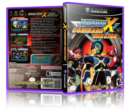Megaman X Command Mission Front Cover