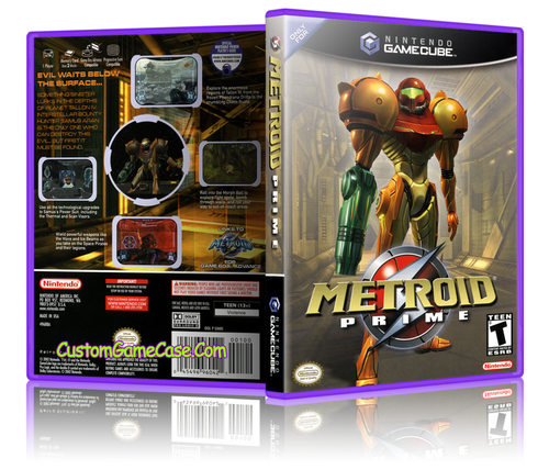 Metroid Prime Front Cover