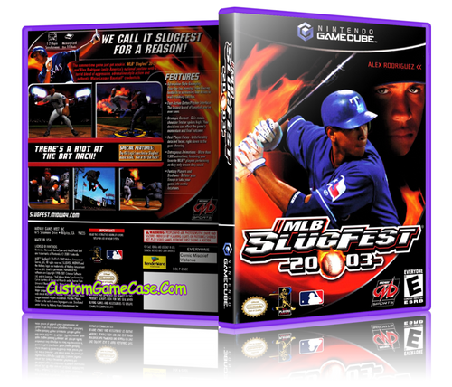 MLB Slugfest 2004 Front Cover