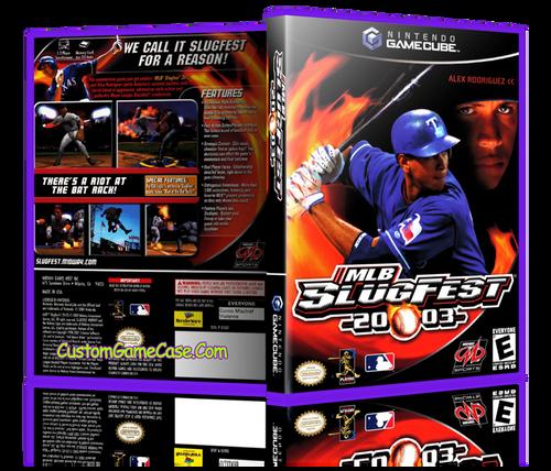 MLB Slugfest 2004 Front Cover