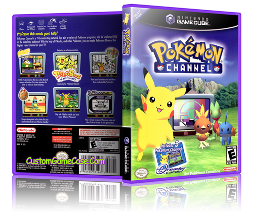 Pokemon Channel GameCube Front Cover