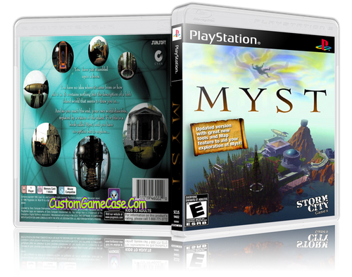 Myst - Sony PlayStation 1 PSX PS1 - Empty Custom Case