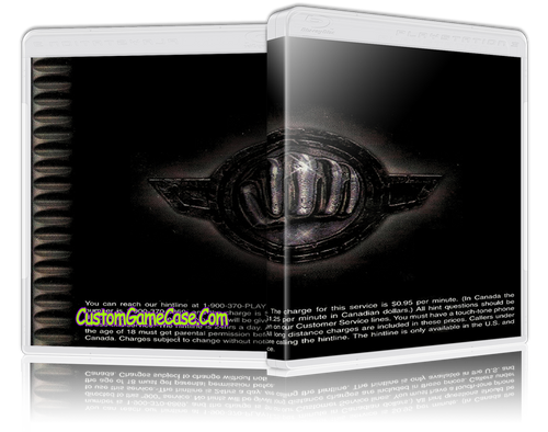 Wild 9 - Sony PlayStation 1 PSX PS1 - Empty Custom Case