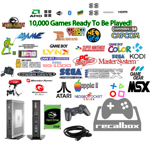 CUSTOM HP PC!! Pandora Box 6s 5000 in 1 Retro Video Games Arcade Console 1080P