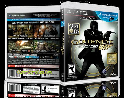 007 Goldeneye - Sony PlayStation 3 PS3 - Empty Custom Replacement Case