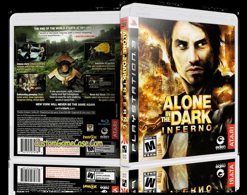 Alone in the Dark case empty