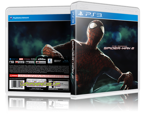 Amazing Spider-man 2 - Sony PlayStation 3 PS3 - Empty Custom Replacement Case