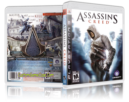 Assassins Creed (V2) - Sony PlayStation 3 PS3 - Empty Custom Replacement Case