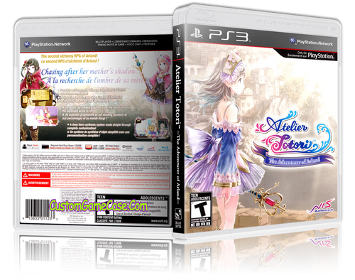 Atelier - Sony PlayStation 3 PS3 - Empty Custom Replacement Case