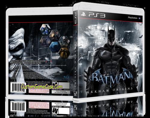 Batman Arkham Orgins (V2) - Sony PlayStation 3 PS3 - Empty Custom Replacement Case
