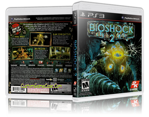 BioShock 2 - Sony PlayStation 3 PS3 - Empty Custom Replacement Case
