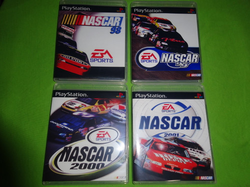 Nascar Racing Collection 98 99 00 01 Sony PlayStation 1 PSX PS1 - Empty Custom Cases