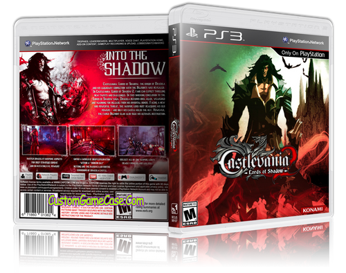 Castlevania Lords of Shadow 2 (V3) - Sony PlayStation 3 PS3 - Empty Custom Replacement Case