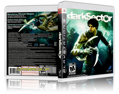 Darksector - Sony PlayStation 3 PS3 - Empty Custom Replacement Case