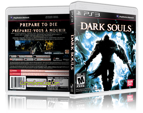 Dark Souls - Sony PlayStation 3 PS3 - Empty Custom Replacement Case