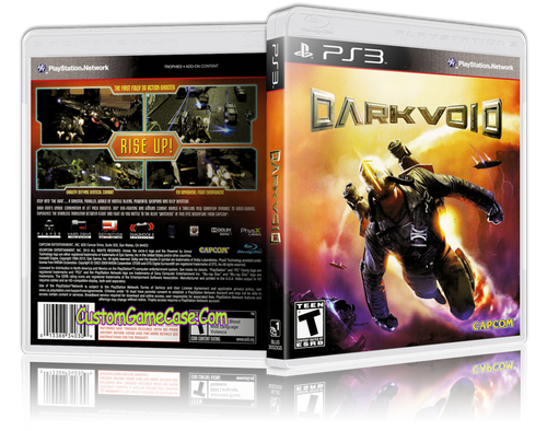Dark Void - Sony PlayStation 3 PS3 - Empty Custom Replacement Case
