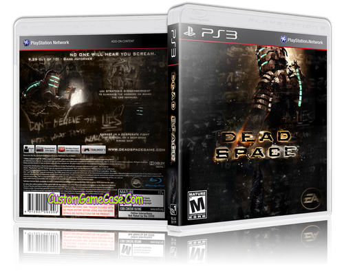 Dead Space (V3) - Sony PlayStation 3 PS3 - Empty Custom Replacement Case