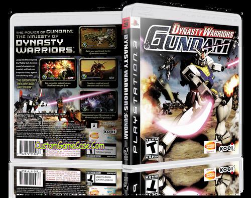Dynasty Warriors Gundam - Sony PlayStation 3 PS3 - Empty Custom Replacement Case