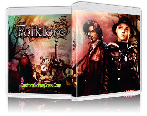 Folklore - Sony PlayStation 3 PS3 - Empty Custom Replacement Case