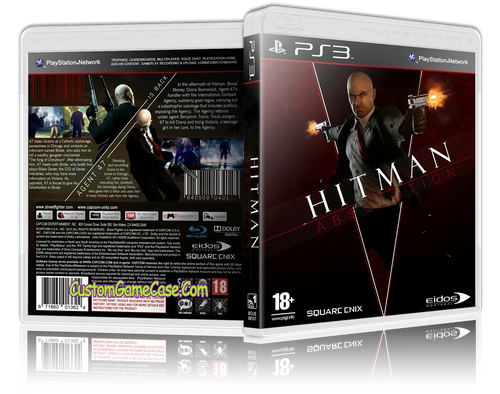 Hitman Absolution - Sony PlayStation 3 PS3 - Empty Custom Replacement Case