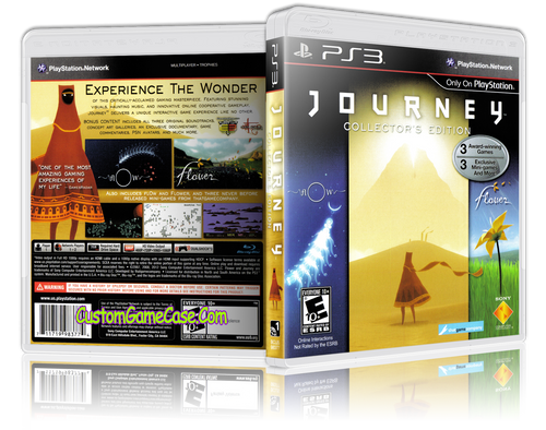 Journey Collector's Edition - Sony PlayStation 3 PS3 - Empty Custom Replacement Case