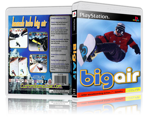 Big Air - Sony PlayStation 1 PSX PS1 - Empty Custom Case