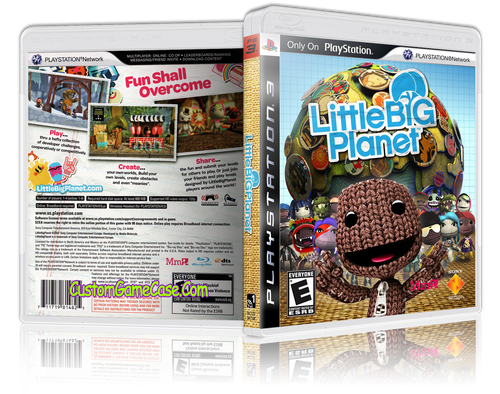 Copy of Little Big Planet (old) - Sony PlayStation 3 PS3 - Empty Custom Replacement Case