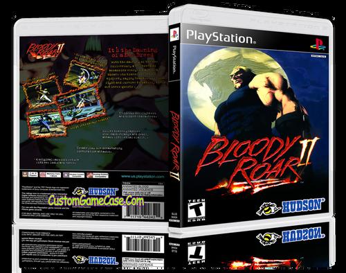 Bloody Roar 2 - Sony PlayStation 1 PSX PS1 - Empty Custom Case