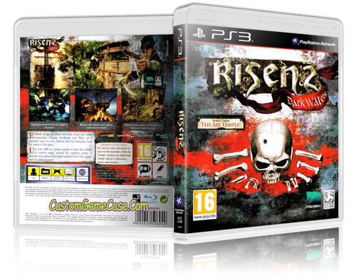 Risen 2 - Sony PlayStation 3 PS3 - Empty Custom Replacement Case