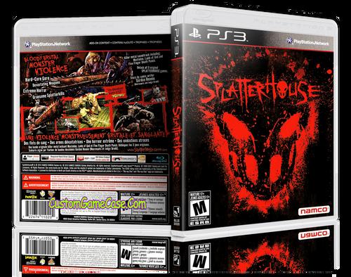 Splatterhouse - Sony PlayStation 3 PS3 - Empty Custom Replacement Case