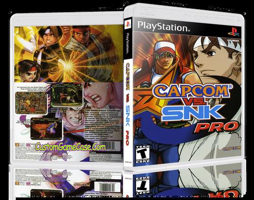 Capcom vs SNK Pro - Sony PlayStation 1 PSX PS1 - Empty Custom Case