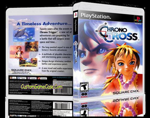 Chrono Cross - Sony PlayStation 1 PSX PS1 - Empty Custom Case
