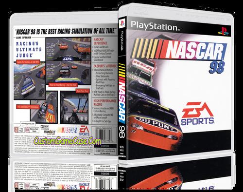 Nascar 98 - Sony PlayStation 1 PSX PS1 - Empty Custom Case