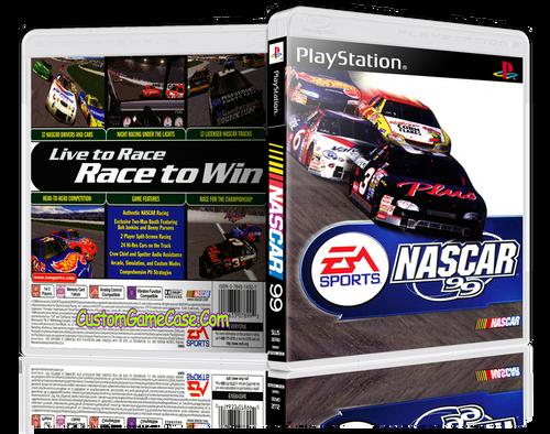 Nascar 99 - Sony PlayStation 1 PSX PS1 - Empty Custom Case